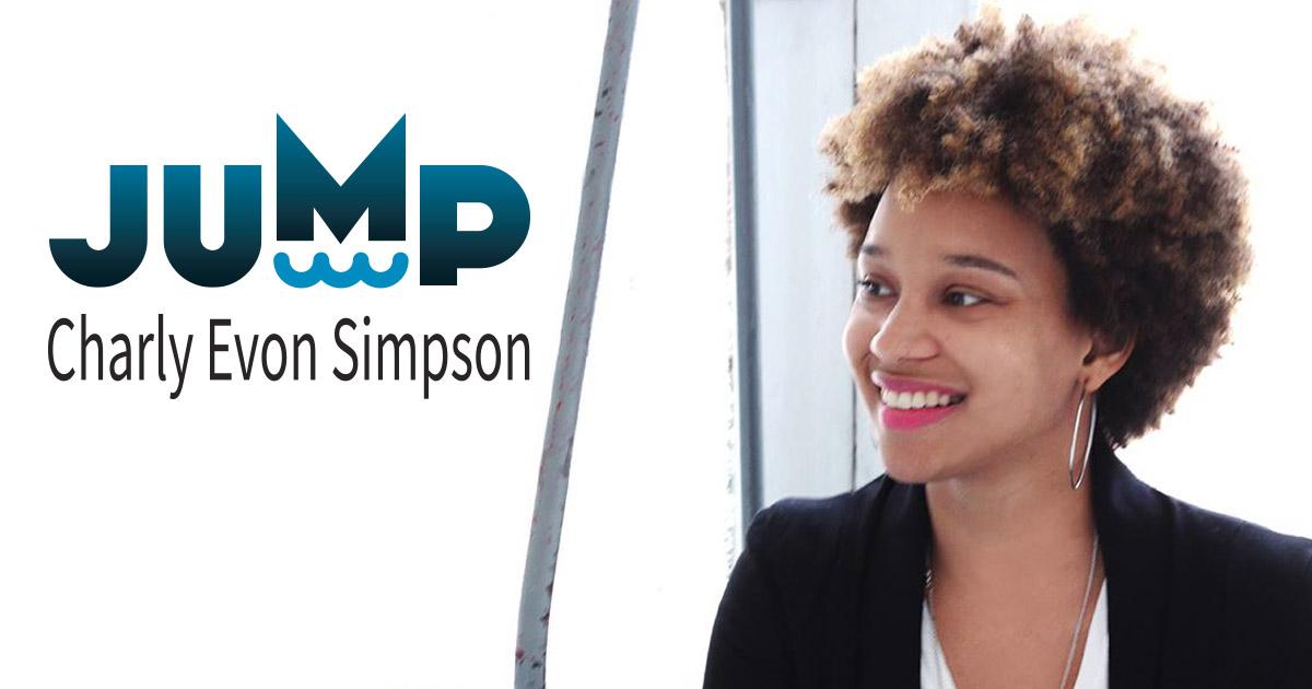 Charly Evon Simpson, playwright, Jump
